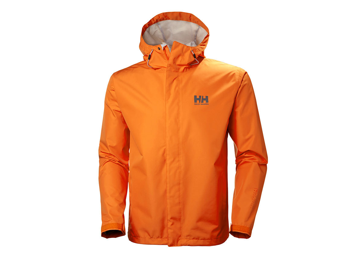 Helly Hansen SEVEN J JACKET - ORANGE PEEL - XL (62047_205-XL )