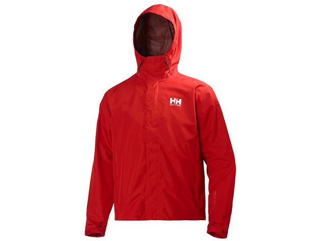 Helly Hansen SEVEN J JACKET - ALERT RED - M (62047_222-M )