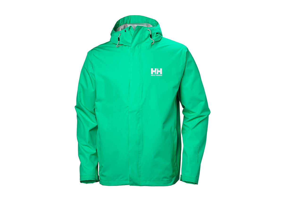 Helly Hansen SEVEN J JACKET - PEPPER GREEN - M (62047_471-M )