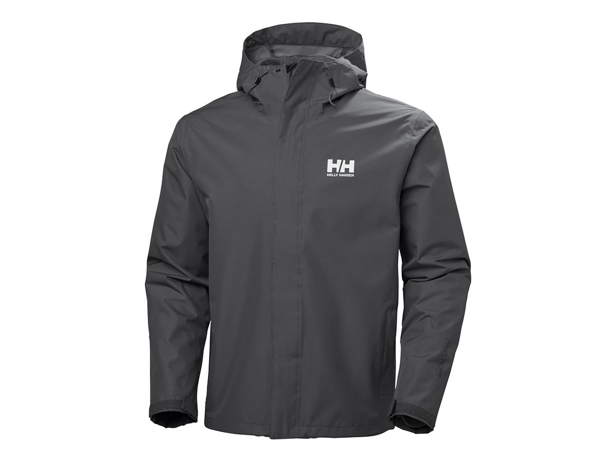 Helly Hansen SEVEN J JACKET - CHARCOAL - M (62047_964-M )