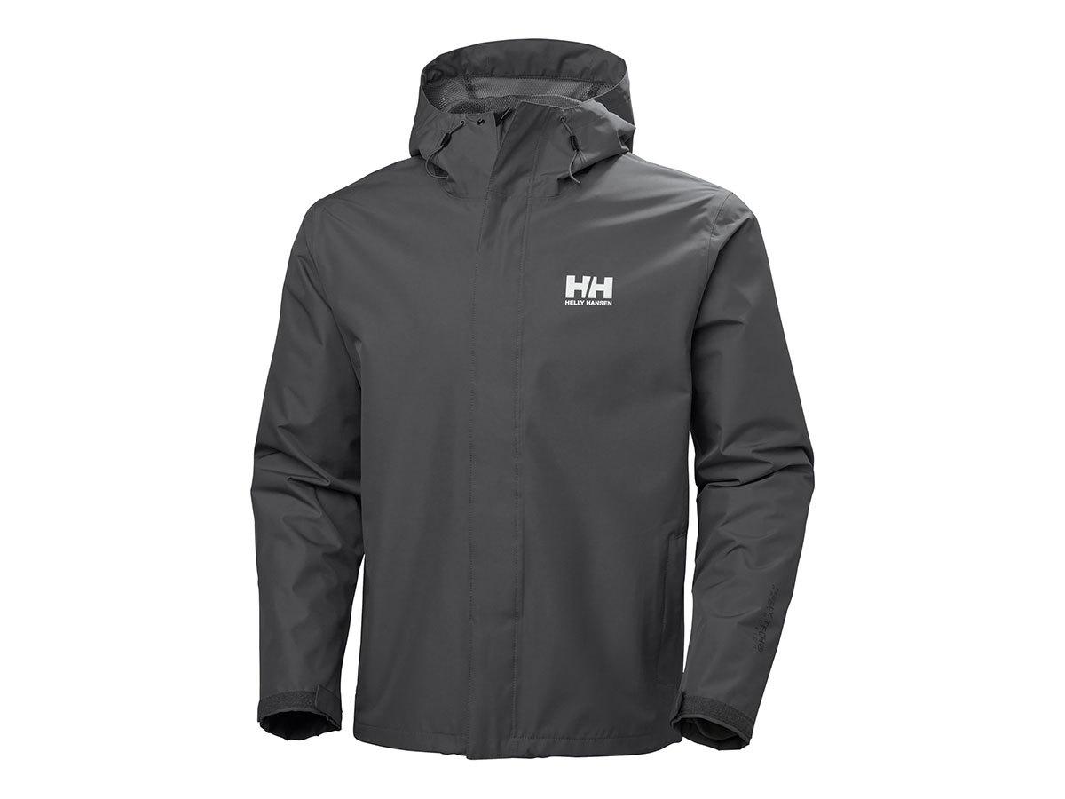 Helly Hansen SEVEN J JACKET - CHARCOAL - L (62047_964-L )