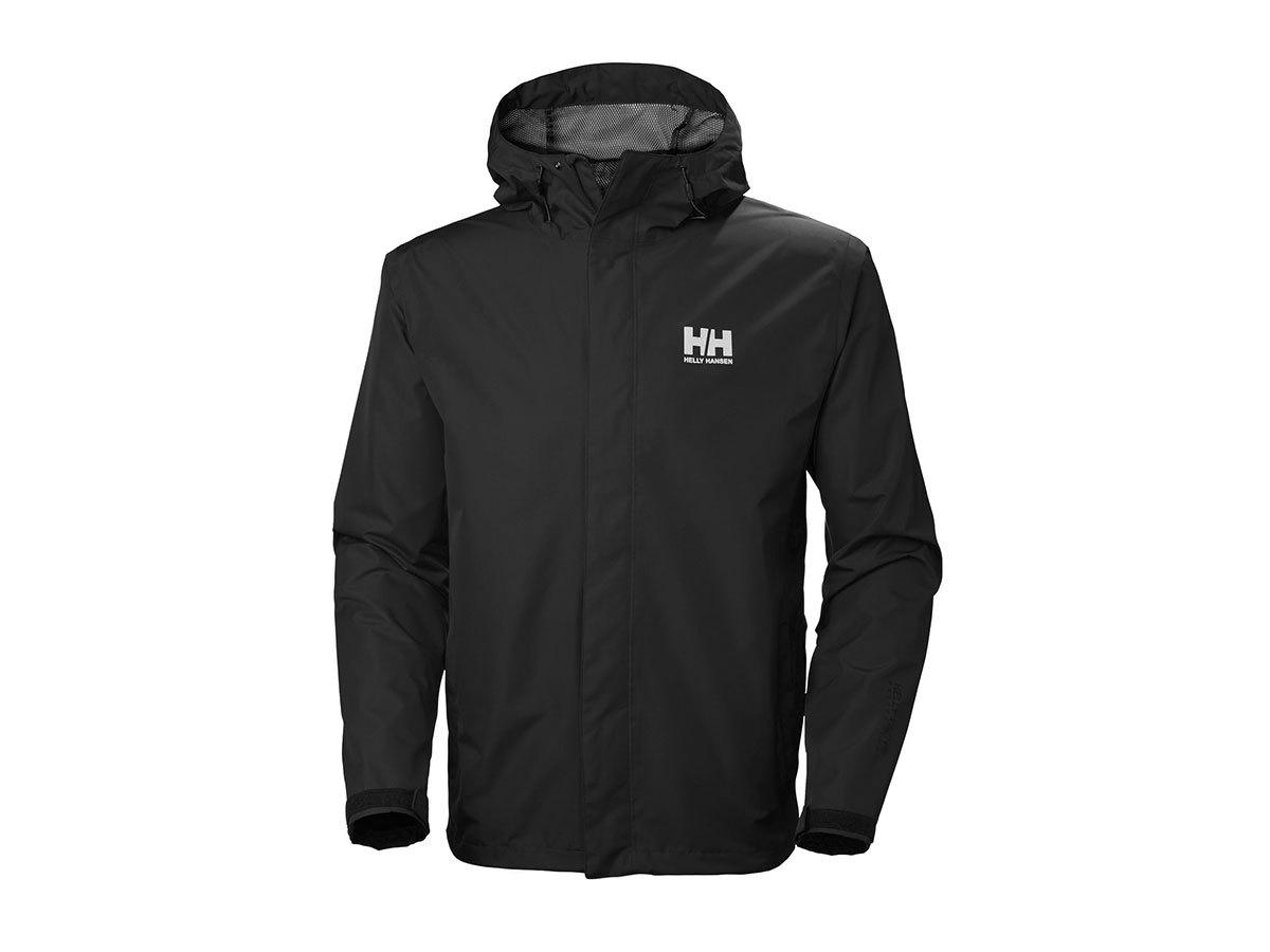Helly Hansen SEVEN J JACKET - BLACK - XL (62047_992-XL ) - AZONNAL ÁTVEHETŐ