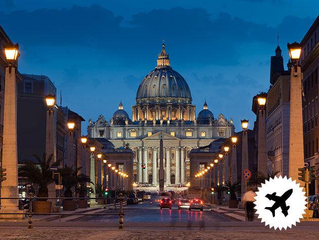 Római városlátogatás és a Vatikán pünkösdkor - szervezett repülős utazás 3 éjszaka szállással, reggelis ellátással, programokkal / fő