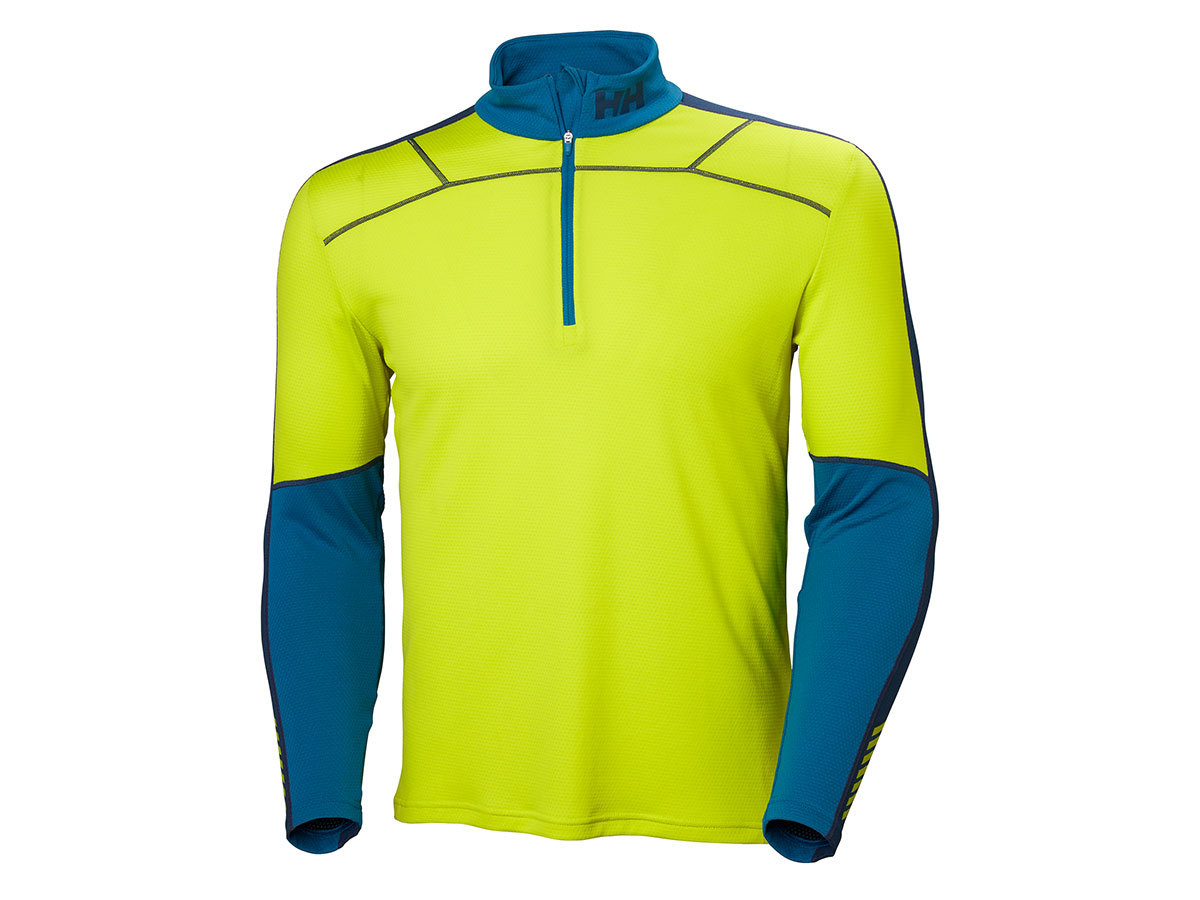 Helly Hansen HH LIFA ACTIVE 1/2 ZIP - SWEET LIME - M (48309_350-M )