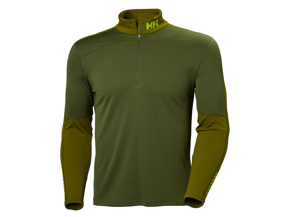 Helly Hansen HH LIFA ACTIVE 1/2 ZIP - IVY GREEN - L (48309_491-L )