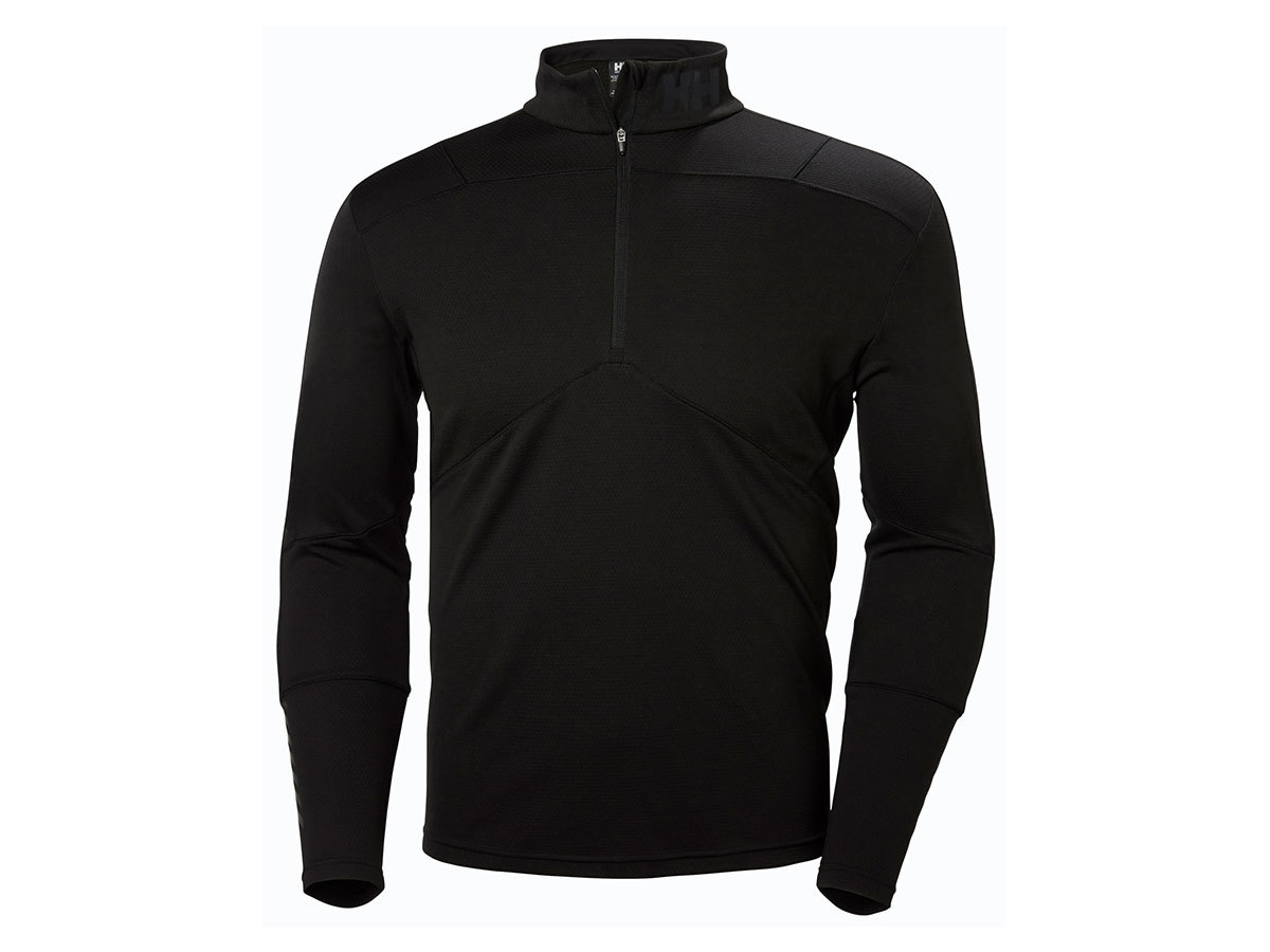 Helly Hansen HH LIFA ACTIVE 1/2 ZIP - BLACK - XXXL (48309_990-3XL )