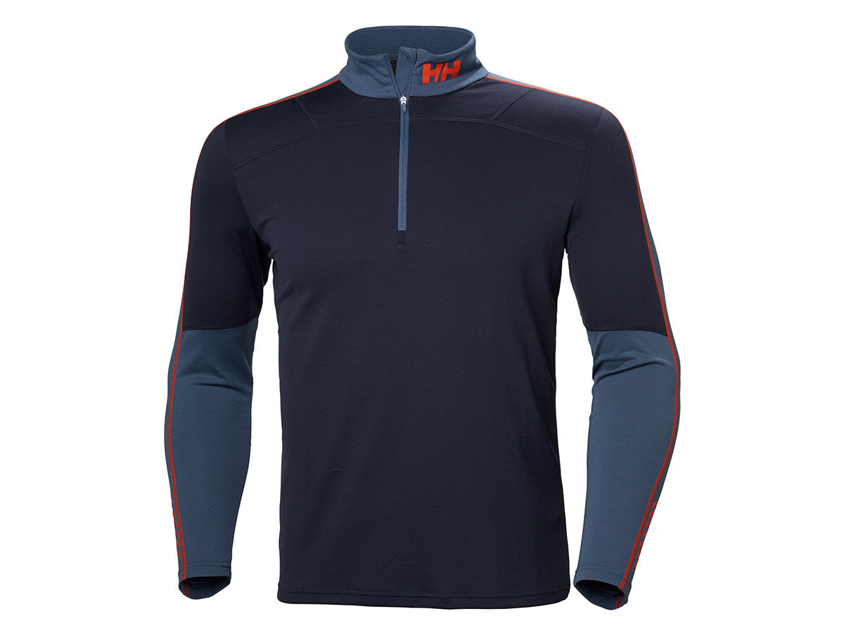 Helly Hansen HH LIFA ACTIVE 1/2 ZIP - GRAPHITE BLUE - S (48309_996-S )