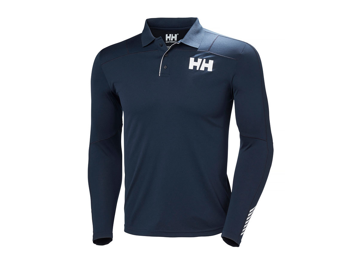 Helly Hansen HH LIFA ACTIVE LIGHT LS POLO - NAVY - XXL (48362_597-2XL )