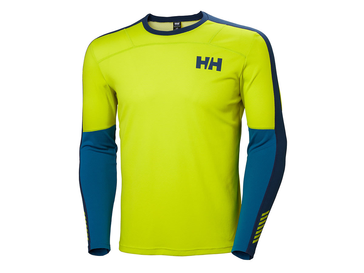 Helly Hansen HH LIFA ACTIVE CREW - SWEET LIME - S (48308_350-S )