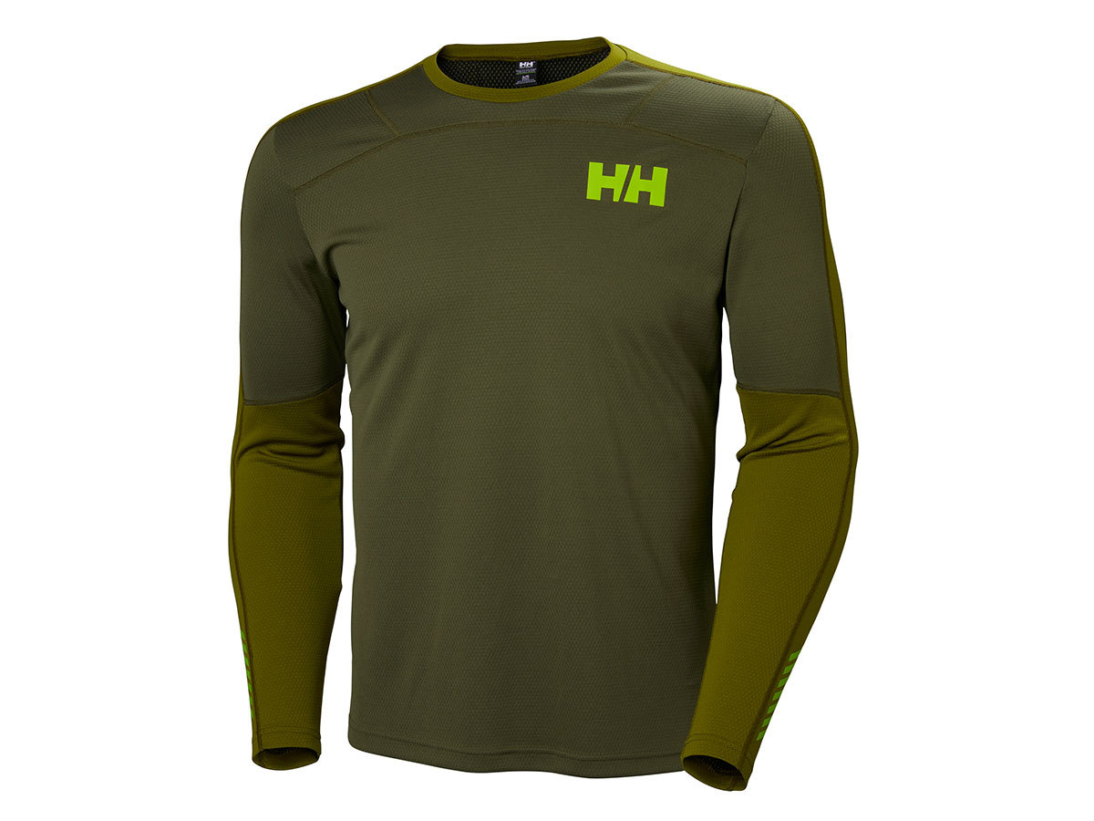 Helly Hansen HH LIFA ACTIVE CREW - IVY GREEN - S (48308_491-S )