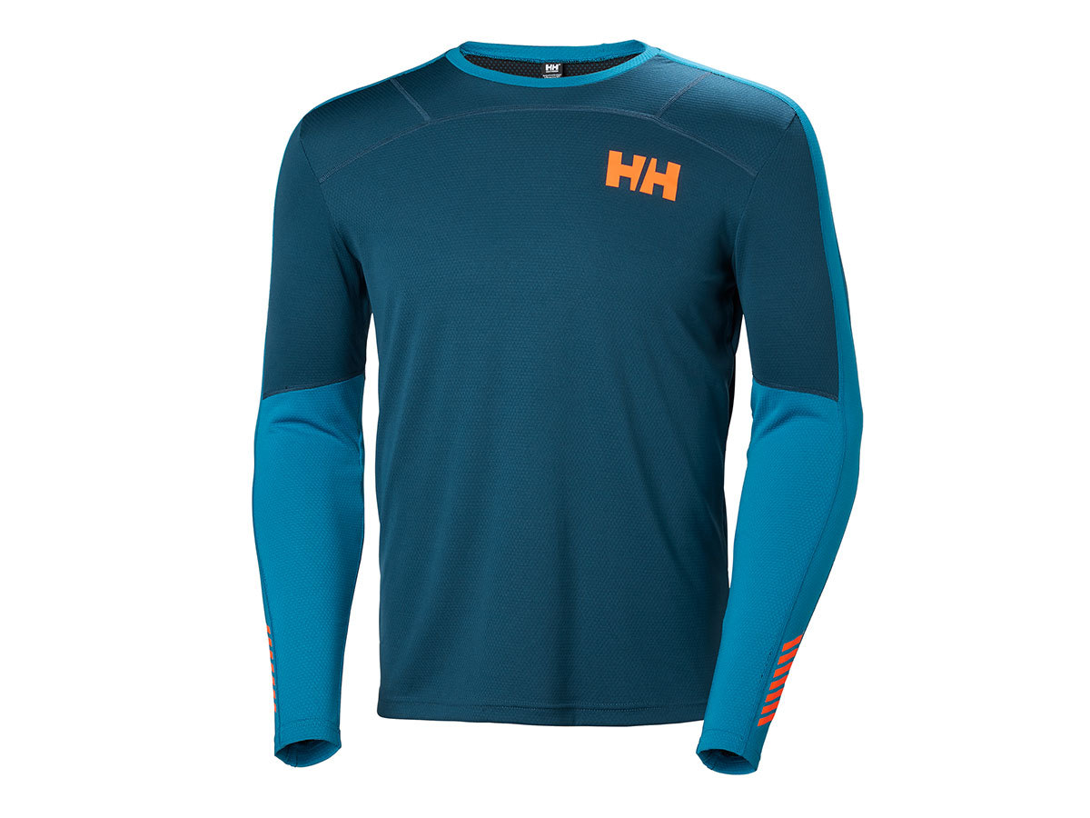 Helly Hansen HH LIFA ACTIVE CREW - DARK TEAL - L (48308_504-L )