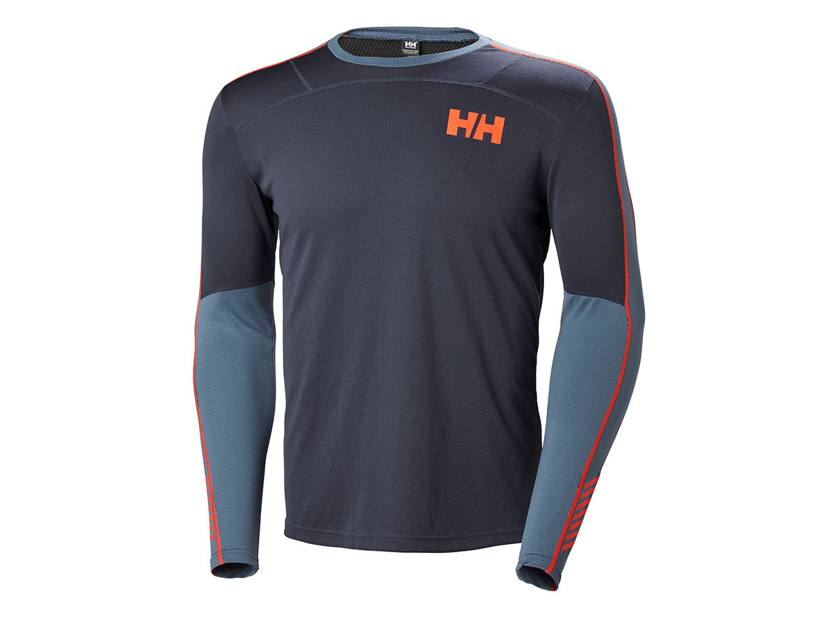 Helly Hansen HH LIFA ACTIVE CREW - GRAPHITE BLUE - S (48308_996-S )