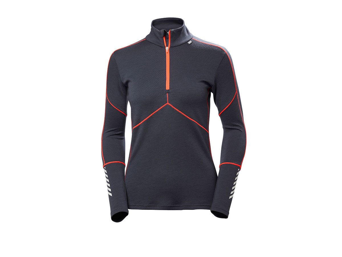 Helly Hansen W HH LIFA MERINO 1/2 ZIP - GRAPHITE BLUE - XL (48343_994-XL )