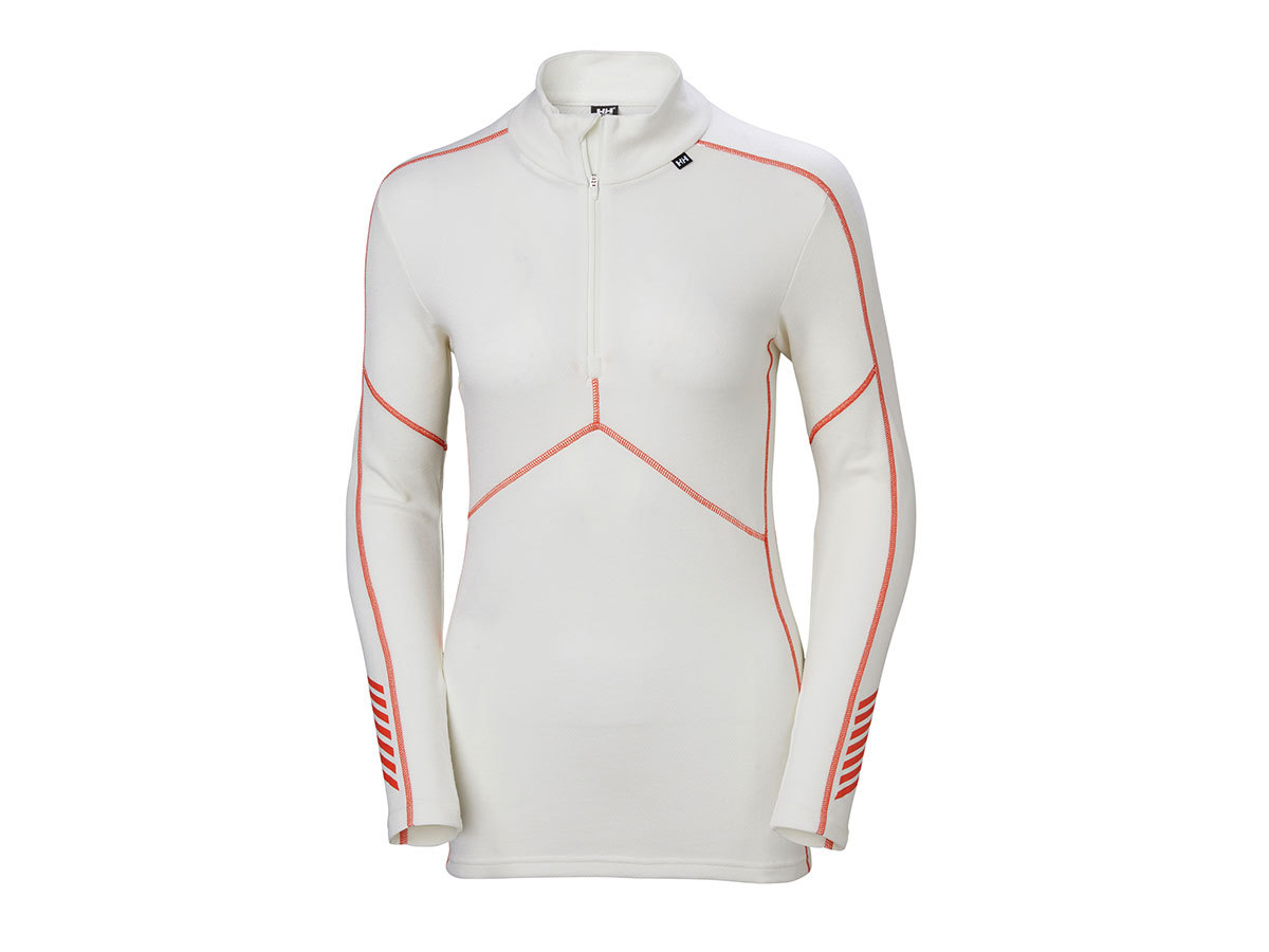 Helly Hansen W HH LIFA MERINO 1/2 ZIP - OFF WHITE - S (48343_011-S )