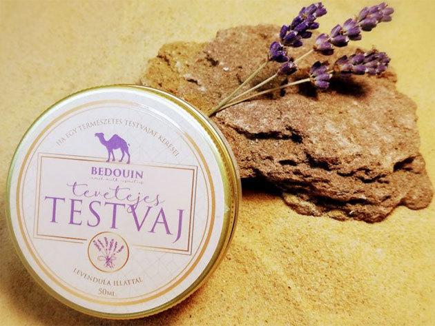 Tevetejes kozmetikumok - szappan, testvaj, fürdőgolyó / natúr, levendula és kókusz illattal
