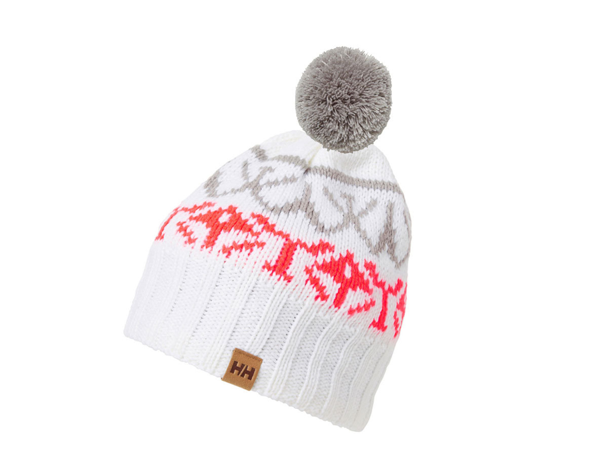 Helly Hansen W POWDER BEANIE - WHITE - STD (67152_002-STD )