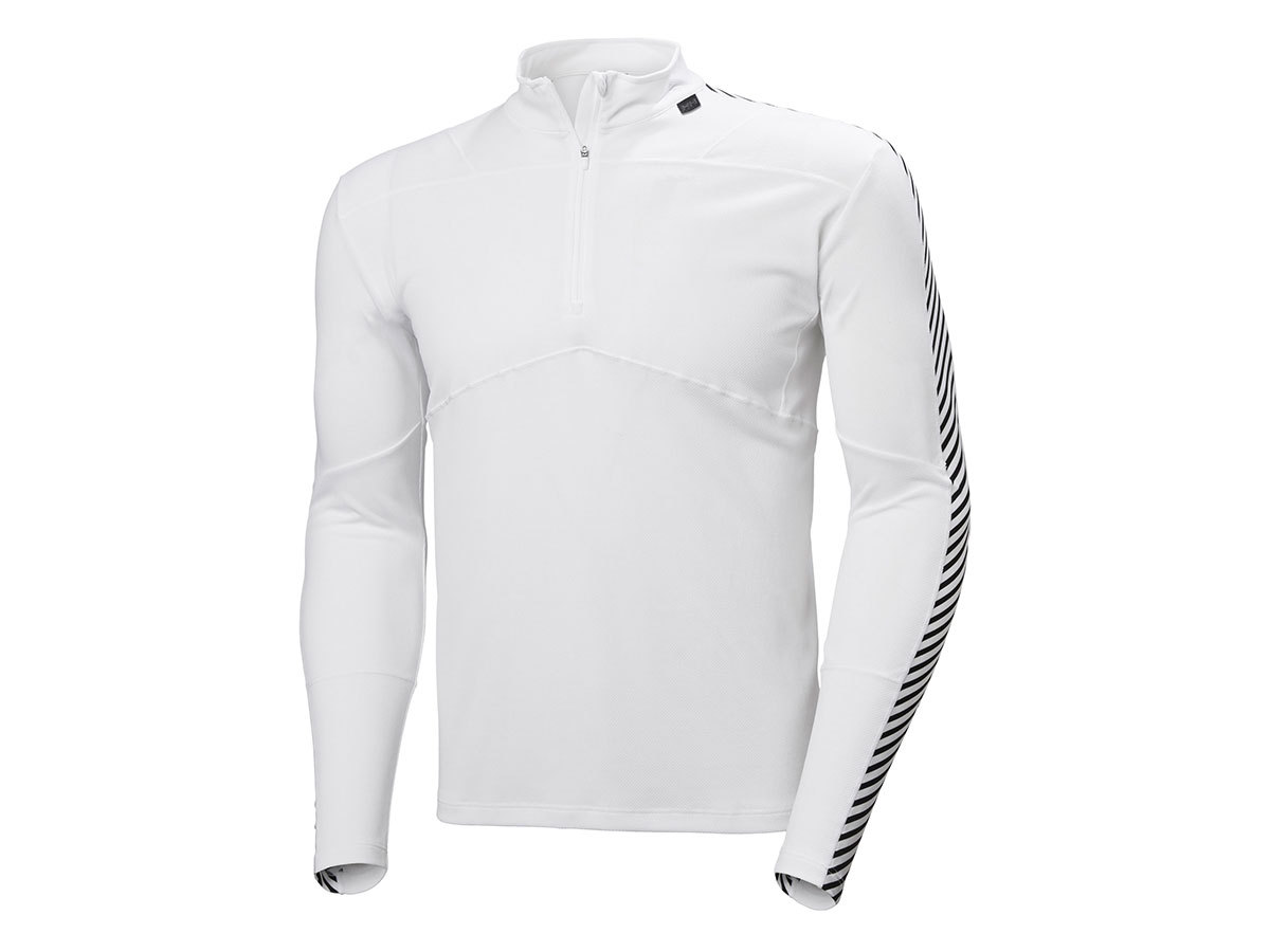 Helly Hansen HH LIFA 1/2 ZIP - HH WHITE - XXL (48302_001-2XL )