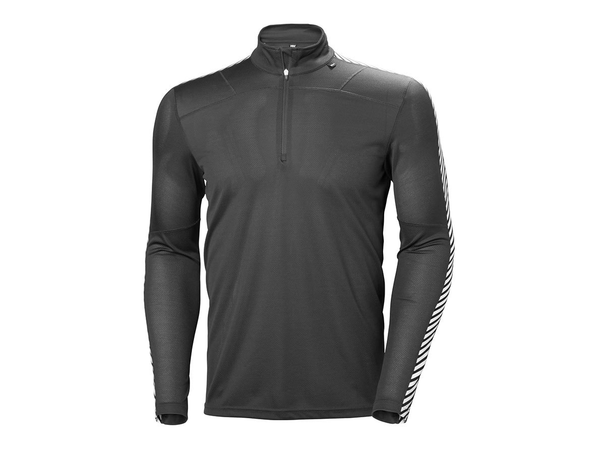 Helly Hansen HH LIFA 1/2 ZIP - BLACK - XXL (48302_990-2XL )