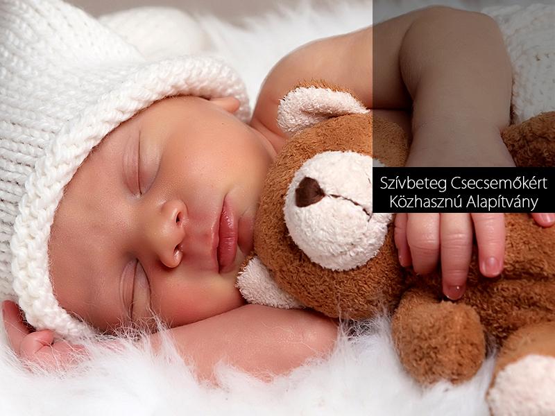 Segíts Te is a szívbeteg kisgyermekeken, hogy legyen esélyük a gyógyulásra!