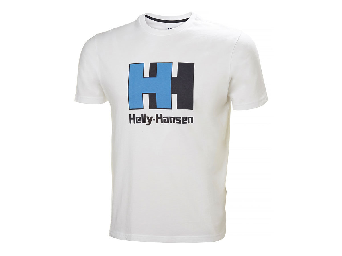 Helly Hansen HH LOGO T-SHIRT - WHITE - XXL (53165_003-2XL )