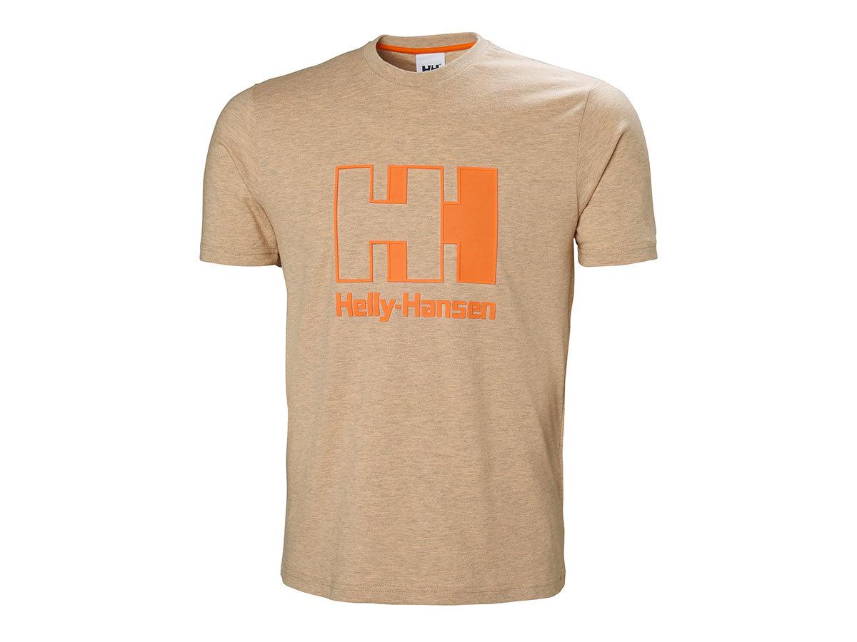 Helly Hansen HH LOGO T-SHIRT - APRICOT MELANGE - XL (53165_294-XL )
