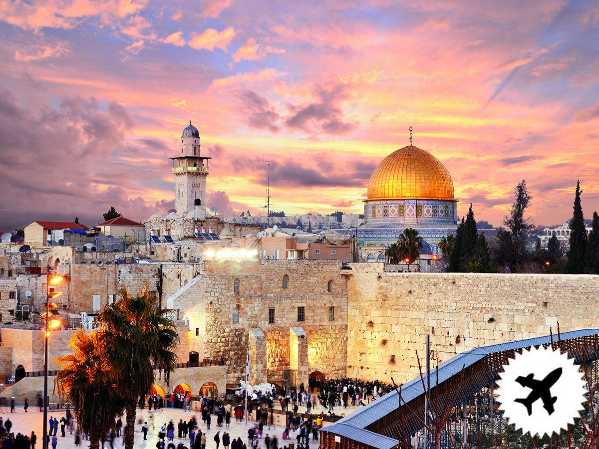 ADVENT JERUZSÁLEMBEN  Holt-tengeri és betlehemi kirándulási lehetőségekkel - 2 éj  szállás reggelivel / fő