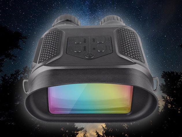 """Nappali - éjszakai távcső (éjjellátó) WG400B kétszemes és WG650 egyszemes készülékek láthatatlan infravetővel / nagy távolságból észlelhető és """"bírálható"""" a vad"""