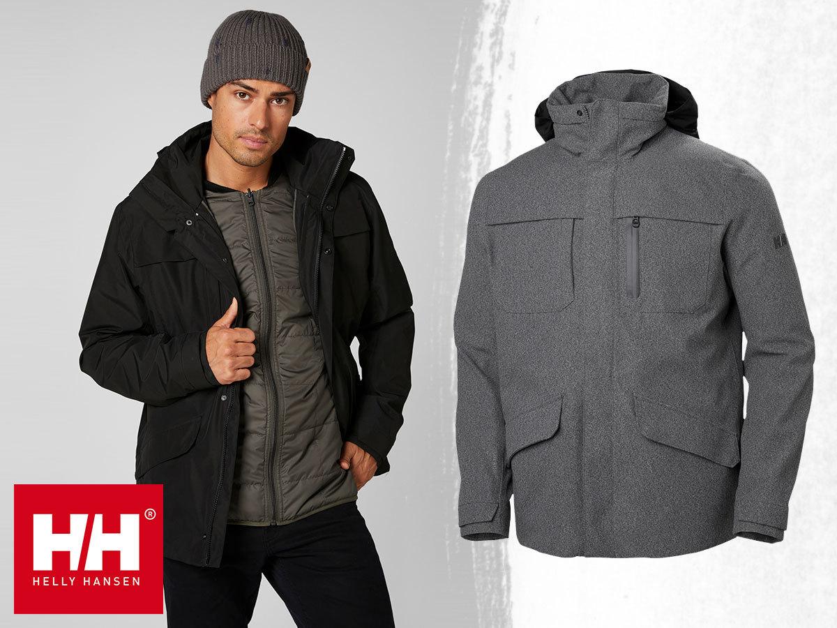 Helly Hansen REYKJAVIK 3-IN-1 JACKET férfi kabát, vízálló, szélálló és lélegző kialakítással, kombinálható CIS rendszerrel