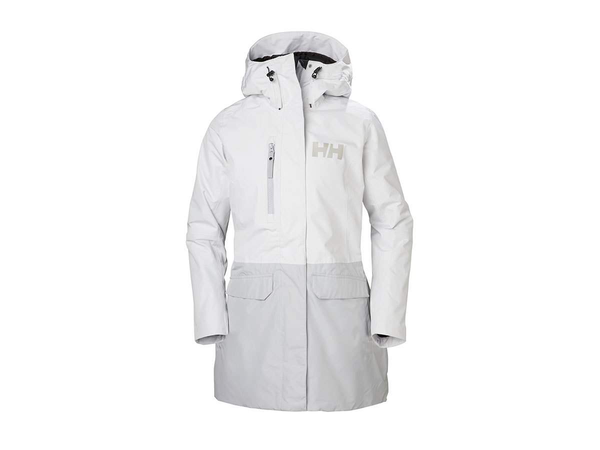 Helly Hansen W TREMONE INS COAT - NIMBUS CLOUD - M (53207_823-M )