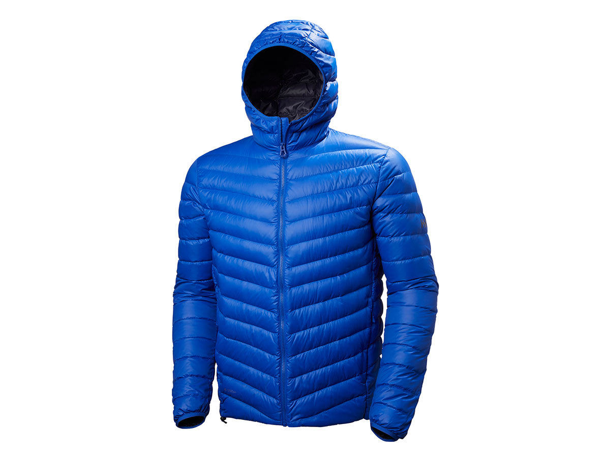 Helly Hansen VERGLAS HOODED DOWN INSULATOR - OLYMPIAN BLUE - S (62773_563-S )