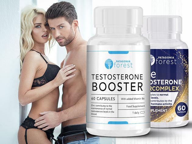 Férfi tesztoszteron étrend-kiegészítő, mely okozza az állóképességet, szexuális teljesítményt, vitalitást - 60 kapszula/doboz