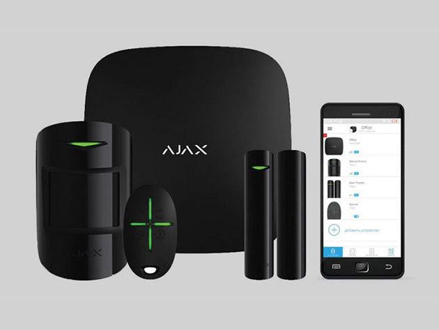 Ajax Okos Otthon Vezeték nélküli biztonság technikai eszközök - Fekete
