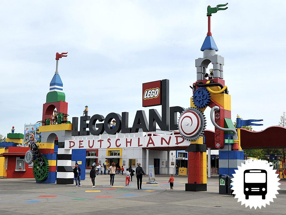 Legoland, Németország - egyedülálló élmény 2-14 éves gyermekes családok számára / buszos utazás