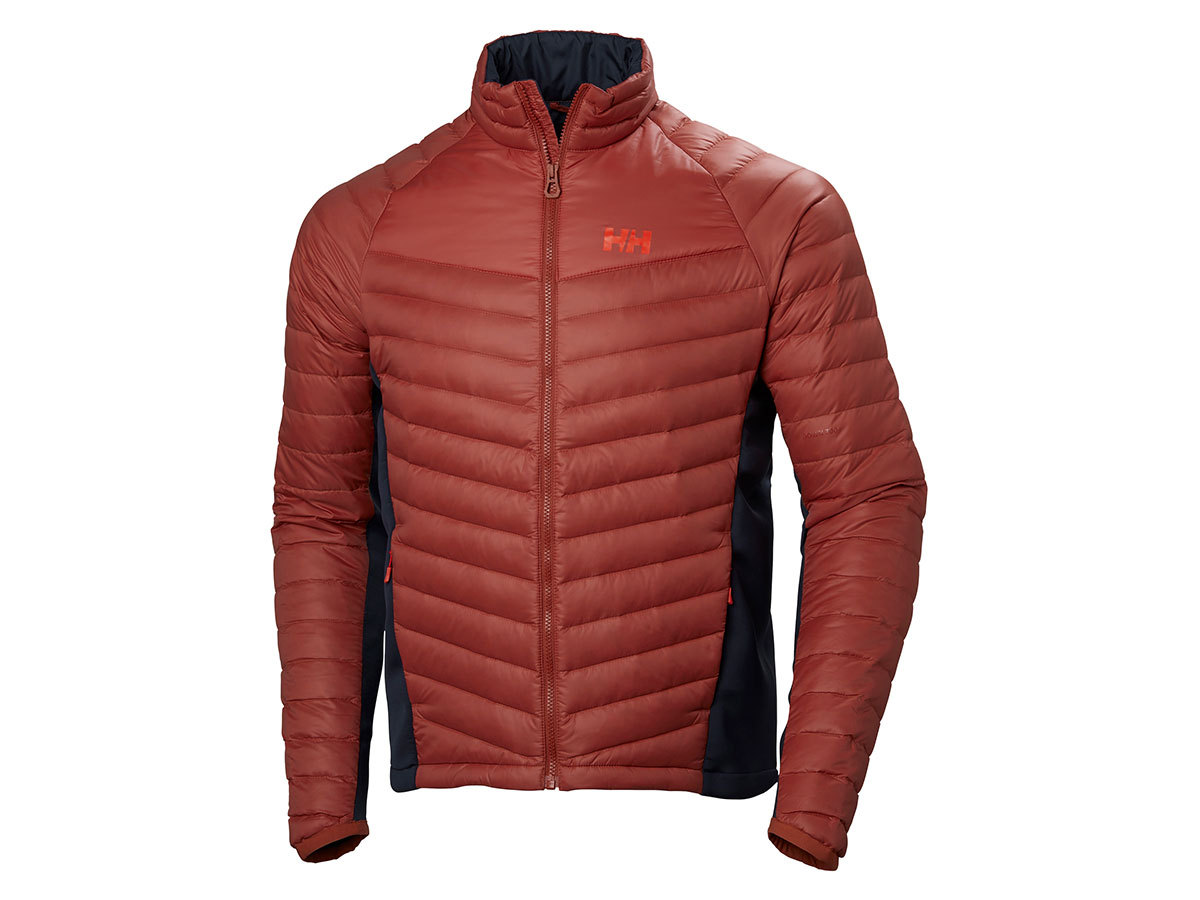 Helly Hansen VERGLAS HYBRID INSULATOR - RED BRICK - XXL (62767_199-2XL )