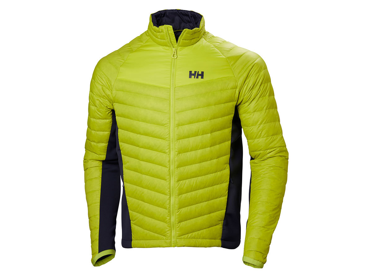 Helly Hansen VERGLAS HYBRID INSULATOR - SWEET LIME - L (62767_350-L )