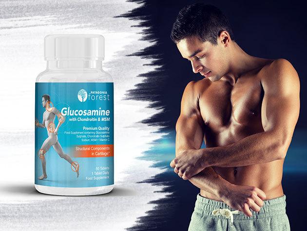 Glükozamin-kondroitin MSM - 3in1 hármas erősség 60db tabletta, az egészséges ízületek fenntartása érdekében