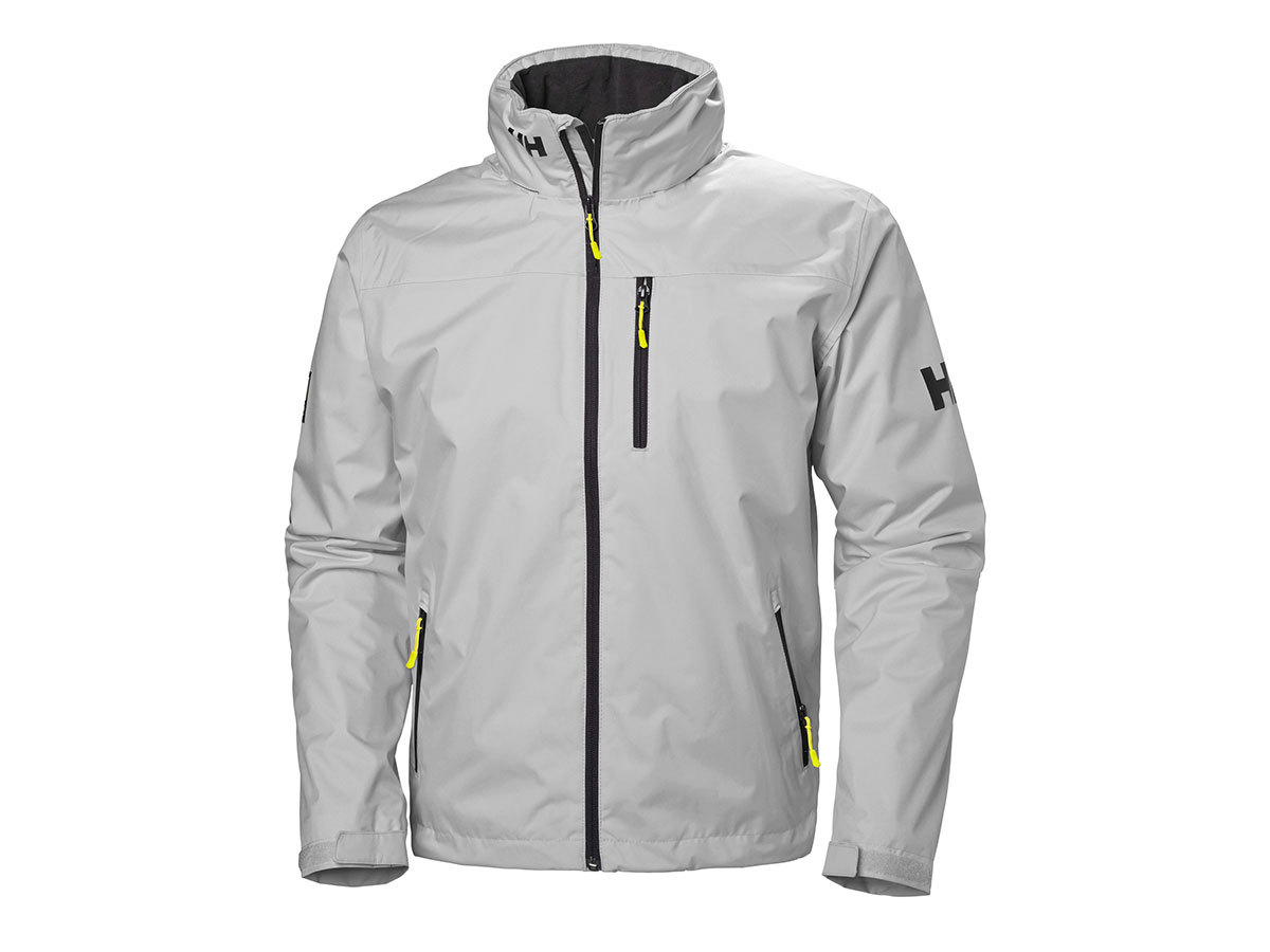 Helly Hansen CREW HOODED MIDLAYER JACKET - GREY FOG - XL (33874_853-XL )
