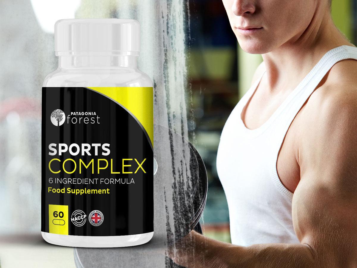 Sports complex - PHYSICAL SUPPORT étrend- kiegészítő az izmok teljesítményének maximalizálásához, 60 kapszula / doboz