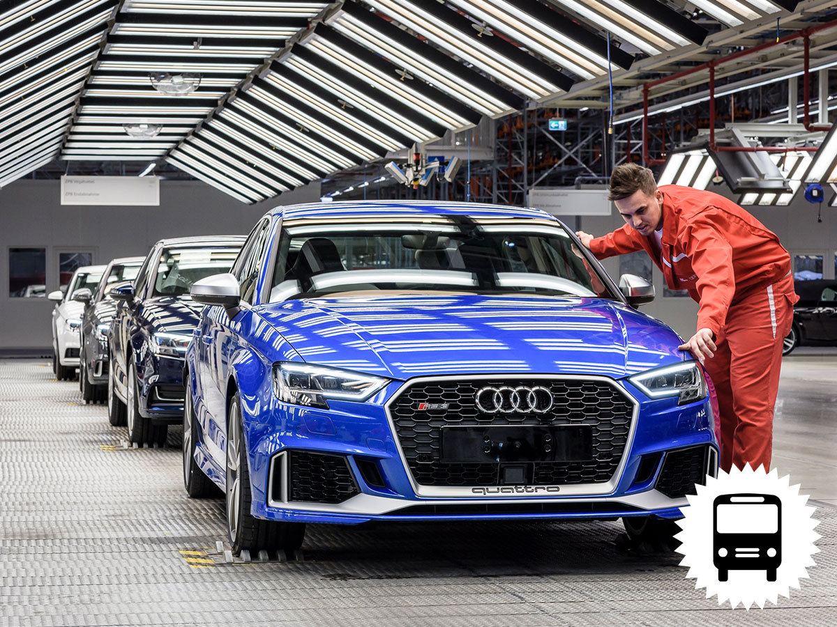 Győri élménynap városnézéssel és Audi gyárlátogatással, 1 napos buszos utazás / fő