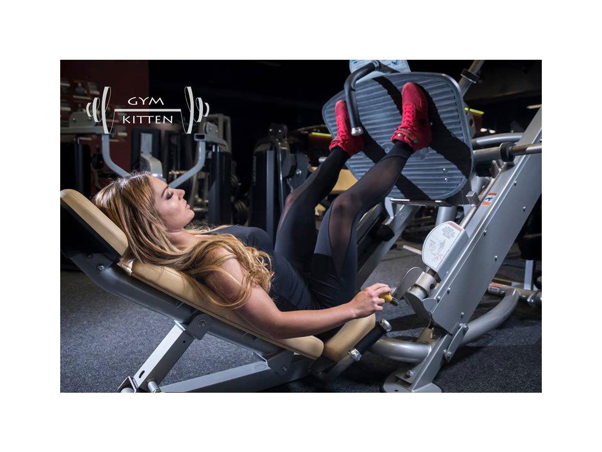 Gym Kitten Fitness együttes Fekete - L