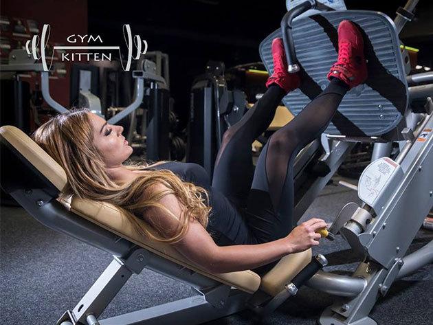 Gym Kitten fitness együttes: leggings és top - női sportruházat a minőség jegyében, egyedi, szexi megjelenés