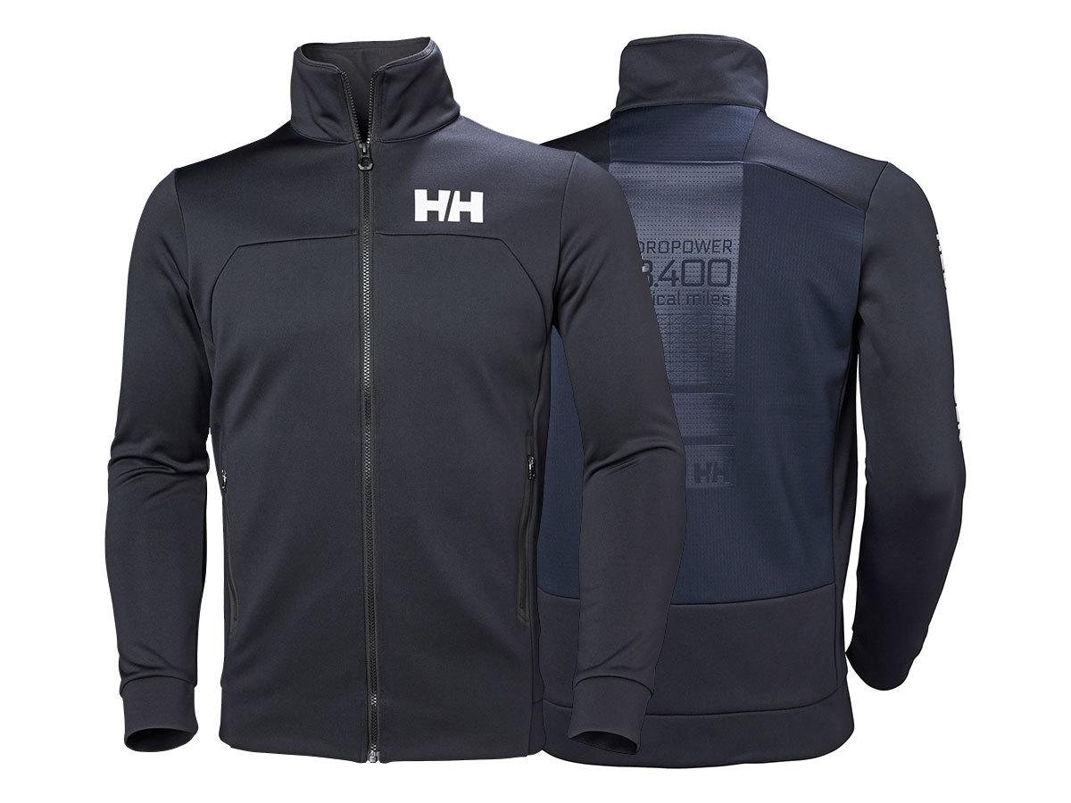 Helly Hansen HP FLEECE JACKET - NAVY - XL (34043_597-XL ) - AZONNAL ÁTVEHETŐ