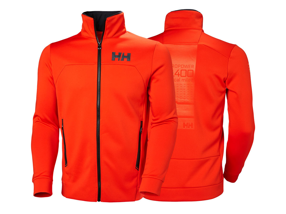 Helly Hansen HP FLEECE JACKET - CHERRY TOMATO - L (34043_147-L )