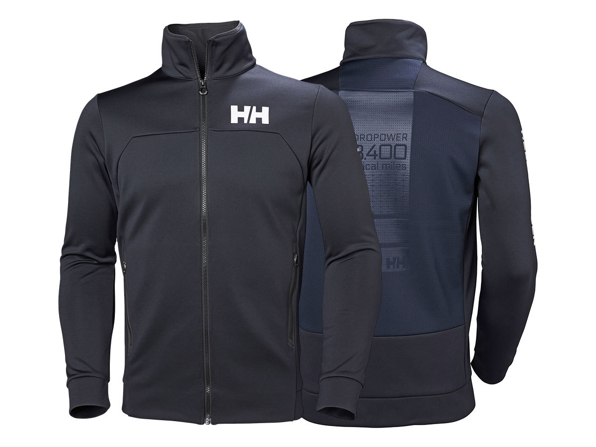 Helly Hansen HP FLEECE JACKET - NAVY - L (34043_597-L )