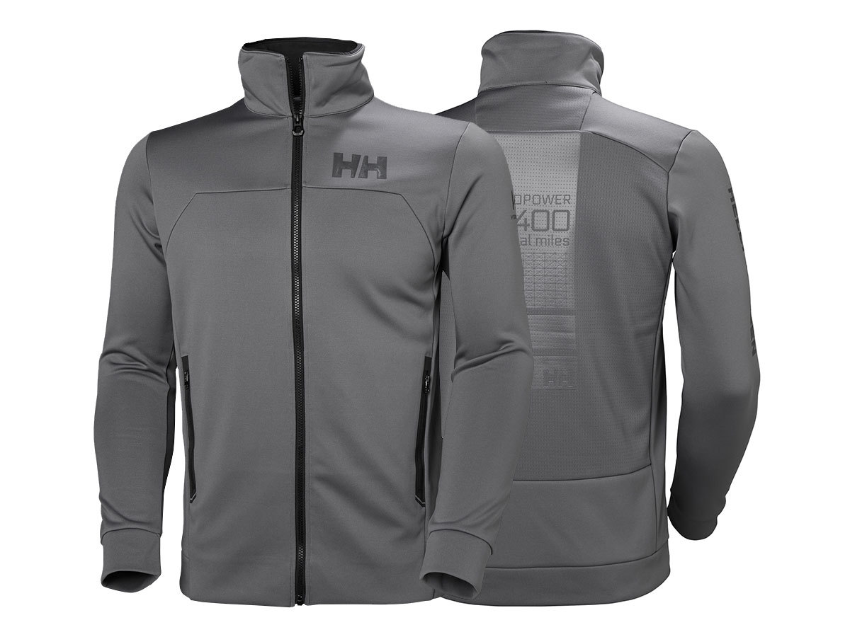 Helly Hansen HP FLEECE JACKET - QUIET SHADE - XL (34043_971-XL )