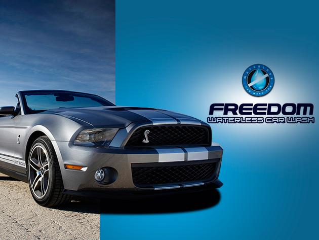 Freedom Original 2 Wax - víz nélkül használható proffeszionális autómosó szer mikroszálas törlőkendővel!