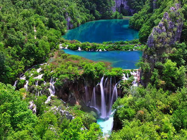 2019.04.19. Plitvicei tavak - buszos kirándulás Horvátország káprázatos tórendszeréhez / fő