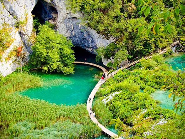 2019.05.31. Plitvicei tavak - buszos kirándulás Horvátország káprázatos tórendszeréhez / fő