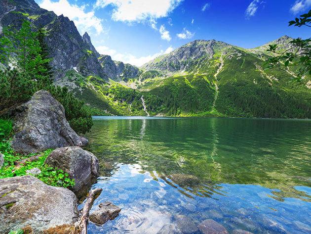 Szlovákia - A lenyűgöző Tátrai tavak (Csorba-tó, Poprádi-tó) 2019.05.04. / fő