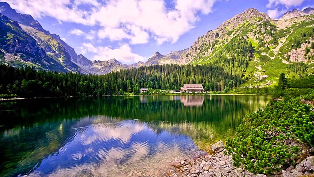 Szlovákia - A lenyűgöző Tátrai tavak (Csorba-tó, Poprádi-tó) 2019.09.07. / fő